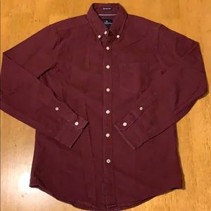 American Eagle long sleeve button down shirt.